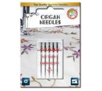 Jehly pro šicí stroje ORGAN - VYŠÍVACÍ č.75
