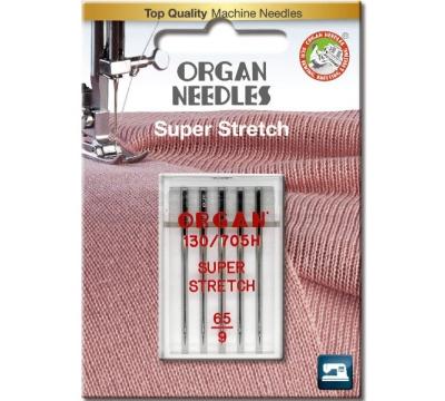 Jehly pro šicí stroje ORGAN stretch č.65