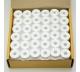 Předvinuté spodní cívky 144 ks bílá