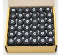 Předvinuté spodní cívky 144 ks černá