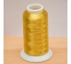 Metalická vyšívací nit - zlatá 2500m
