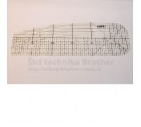 Zažehlovací pravítko 10 x 30 cm