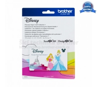 Karta se vzory Disney - PRINCESS 1