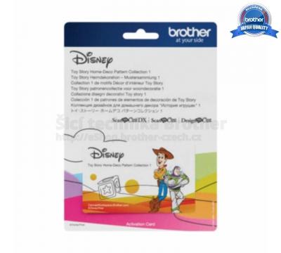Karta se vzory Disney – TOY STORY