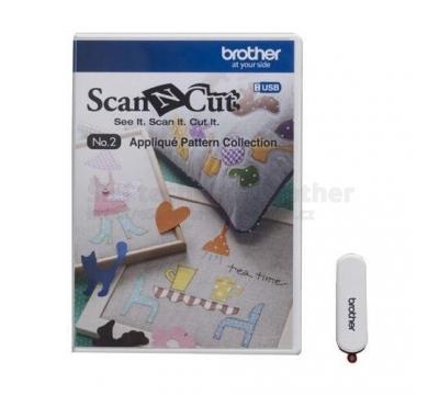 Aplikační vzory ScanNCut - USB2
