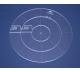 Quiltovací pravítko - Kruhy NP-K2