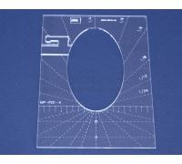 Quiltovací pravítko - Tvary NP-P01-4