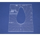 Quiltovací pravítko - Tvary NP-P02-4