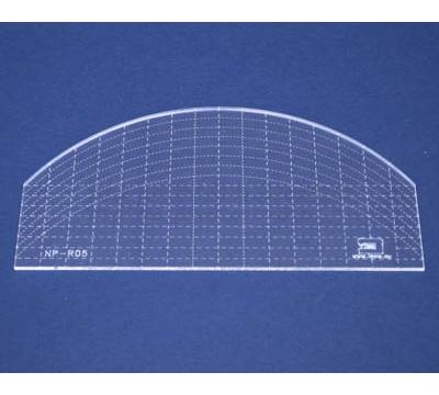 Quiltovací pravítko - Oblouk NP-R05