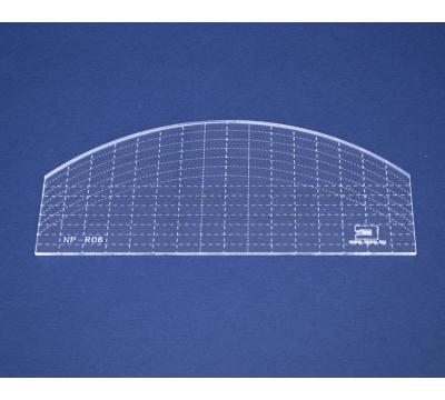 Quiltovací pravítko - Oblouk NP-R06