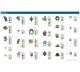 Vyšívací vzory USB3 - zimní kolekce