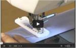 video návod ukázka Šicí stroj Brother J14