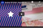 video návod ukázka Vyšívací stroj Brother PR1055X desetijehlový