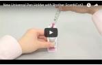 video návod ukázka Univerzální držák pro pera