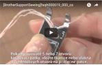 video návod ukázka PATKA PRO TKANICE - F013