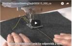 video návod ukázka PATKA S PRAVÍTKEM - F035