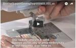 video návod ukázka PATKA ZIPOVÁ STAVITELNÁ - F036