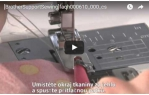 video návod ukázka PATKA PRO ÚZKÝ LEM - F002