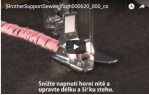 video návod ukázka PATKA SMYČKOVACÍ  - F025