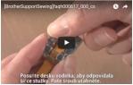 video návod ukázka PATKA PRO PŘIŠÍVÁNÍ FLITRU - NF021