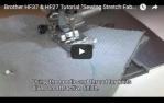 video návod ukázka Šicí stroj Brother HF37