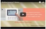 video návod ukázka Šicí stroj Brother Innov-ís F410