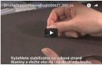 video návod ukázka Sada pro šití v kruzích