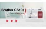 video návod ukázka Šicí stroj Brother CS10S