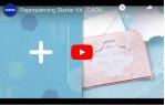 video návod ukázka Startovací set - DÍRKOVÁNÍ PAPÍRU