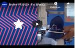 video návod ukázka SADA NA VYŠÍVÁNÍ ČEPIC PRCF5 130 x 60 mm
