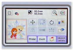 Brother NV M280D Touchscreen